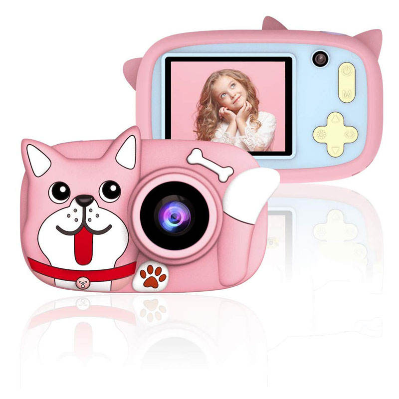 Gift Kids Ips 2.4Inch Children Digital Camera Gift For Kids Toys With Dual Lens 26Mp