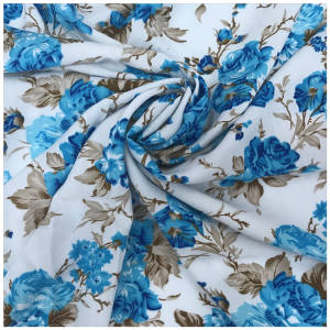 good quality stocklot printed rayon fabric fresh order wholesale/fresh order Challis Print Fabric Stocklot/Closeout