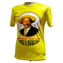 Election Polyester t shirt with printing logo uganda campaign t shirt