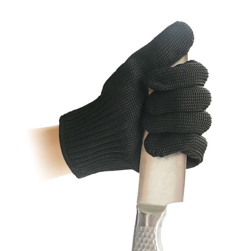 In Stock Cut Resistant Anti Cutting Metal Stainless Steel Hand Gloves CE Standard Level 5