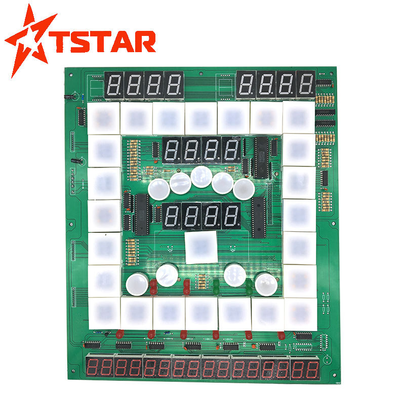 PCB circuit boards factory direct wholesale coin operated Fruit King / casino Mario game PCB board with low price
