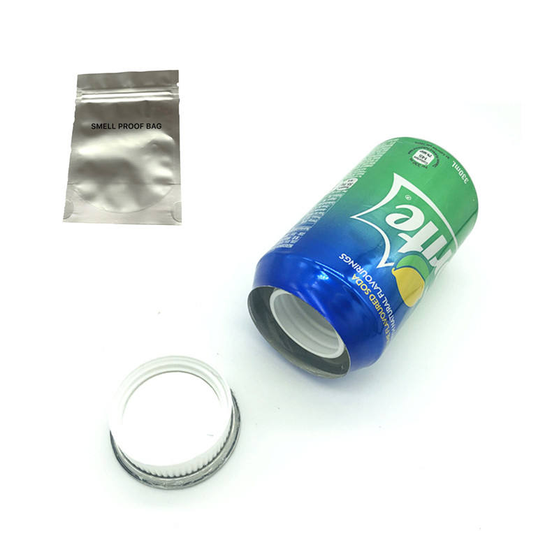 Sprite stash Safe Can Diversion Safe with food grade smell proof bags
