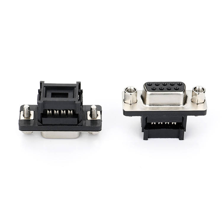 Low price wholesale D-SUB DIDC9P pin female receptacle computer connector