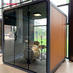 Soundbox professional acoustic led cell phone booth office phone