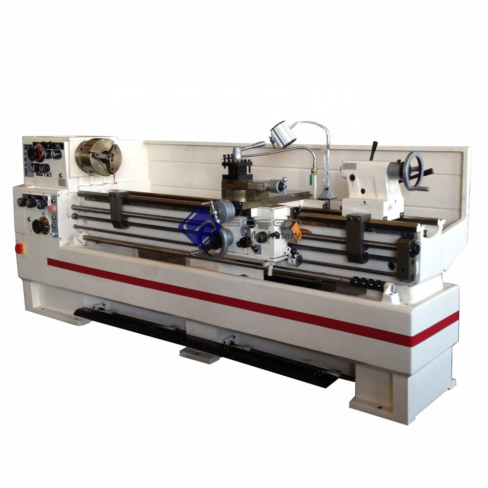 China supplier 2 meters horizontal metal lathe