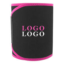 Custom Logo High Quality Sports Tummy Sauna Wrap Band Slimming Sweat Belt Waist Trimmer Belt For Men Women Workout