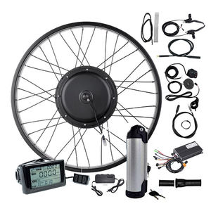 Hot ebike conversion kit 1000w with battery lowest price electric bike spare parts High efficiency mid drive ebike conversion ki