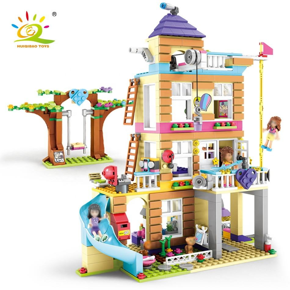 City 868 Pcs Girls Legoinglys Friends Kids Building Blocks Friendship House