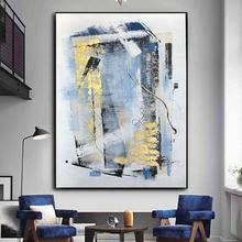 Wall Art Canvas Paint Abstract Acrylic Painting Living Room Home Decoration Frame Hand Painted Oil Painting