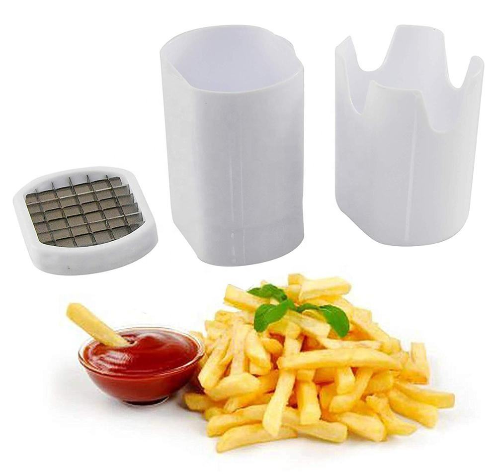 Perfect Fries Slicer One Step Natural French Fry Cutter