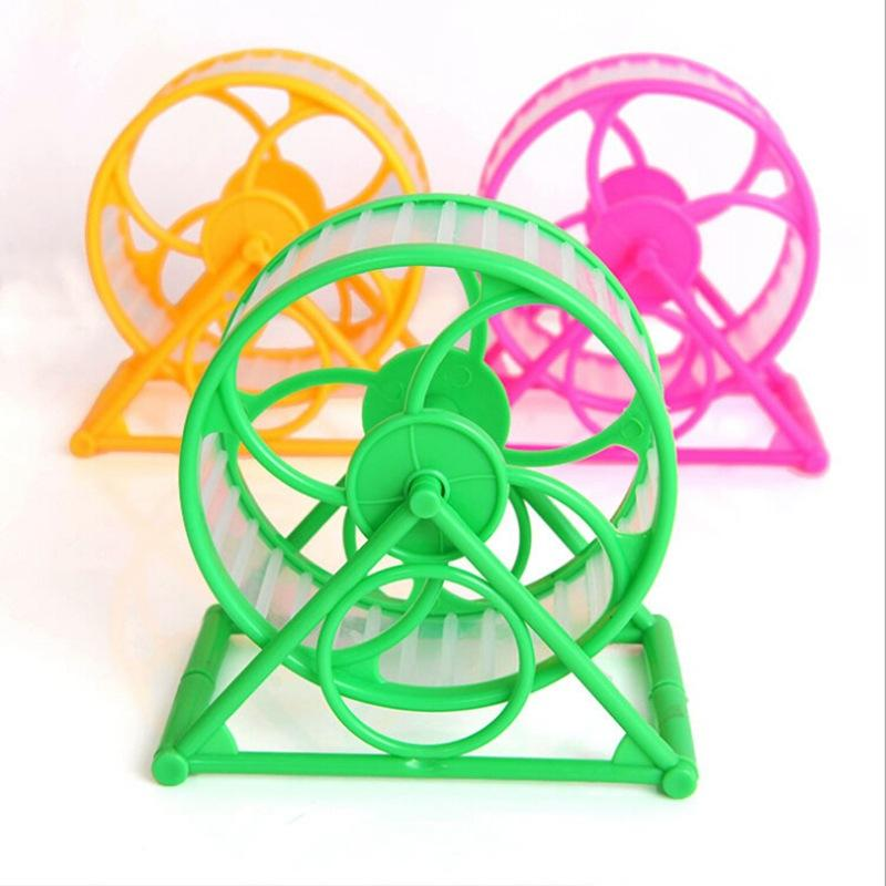 Collapsibie New Design Rotatable Detachable Exercise Toy Running Sports Wheel Pet Hamster Running Wheel