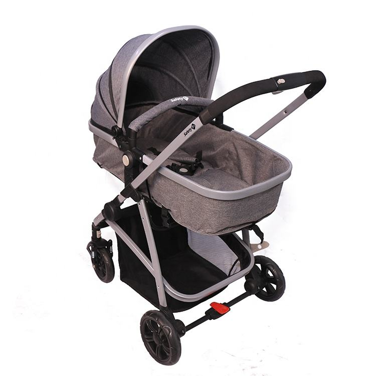 Brand New Kids Pushchair Pram Baby Stroller With Removable Wheel