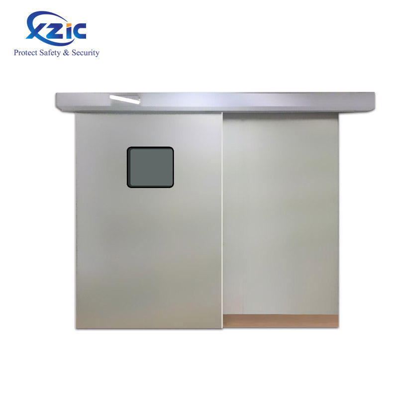 High-quality operating room automatic door medical purification hospital steel sliding airtight door