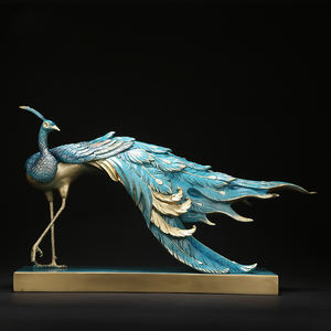 China Metal Peacock Statue China Metal Peacock Statue Manufacturers And Suppliers On Alibaba Com