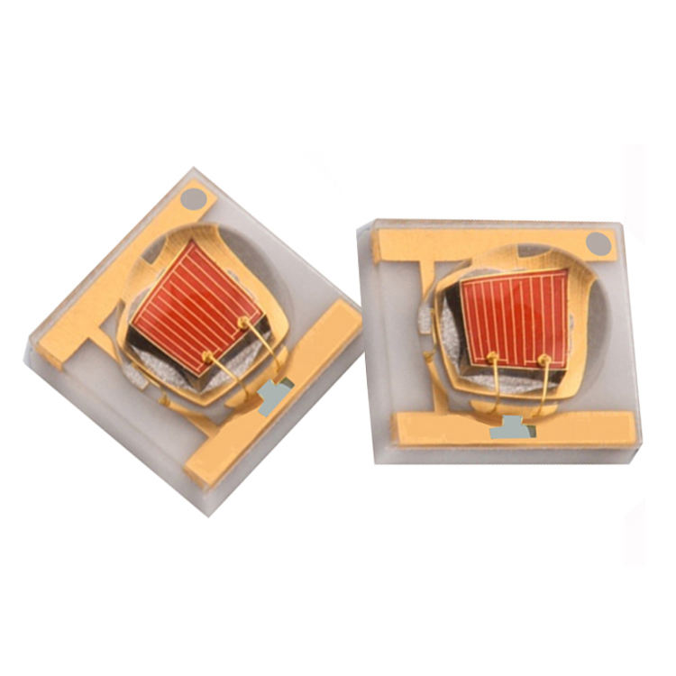 3W 1W 620nm 630nm 640nm 660nm red led with taiwan epiled chip