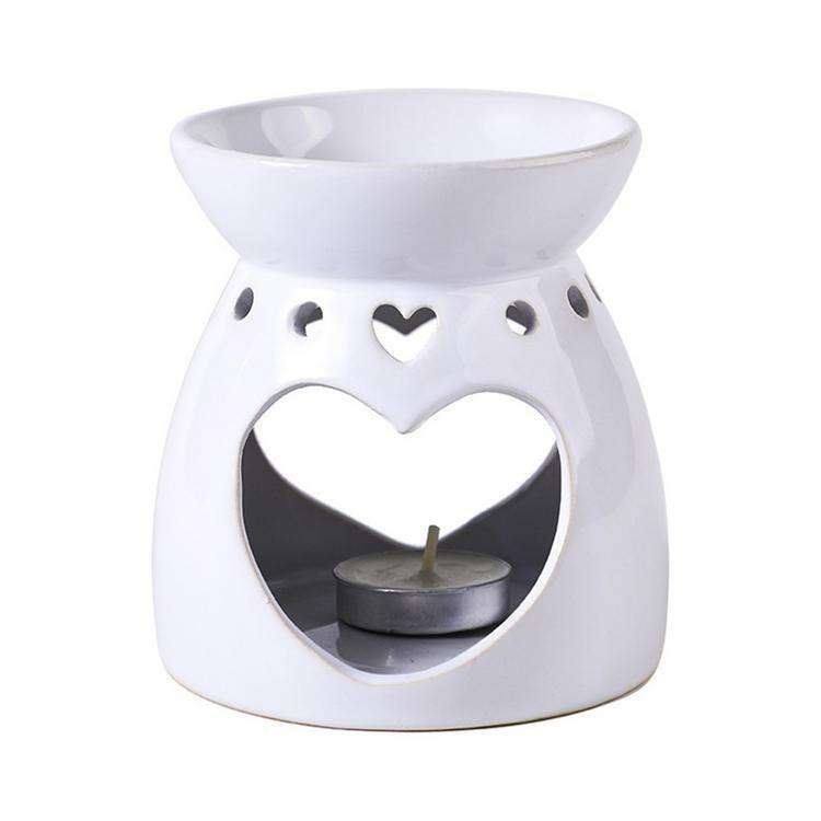 Wax Melt Essential Oil Burners Ceramic Aroma Burners Aromatherapy Candle Diffuser for Home Bedroom Decor