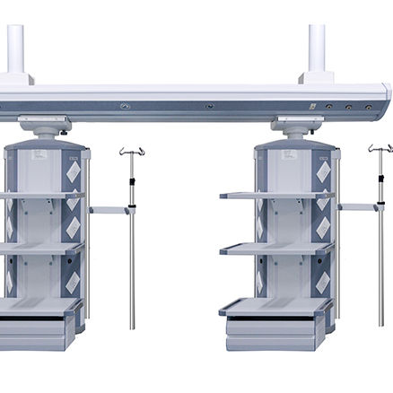 ICU Suspension Bridge Ceiling-Mounted system Medical pendant bridge equipment