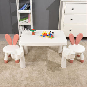 Kids Plastic Gaming Table And Chairs Set Baby Chair For Children Furniture Sets