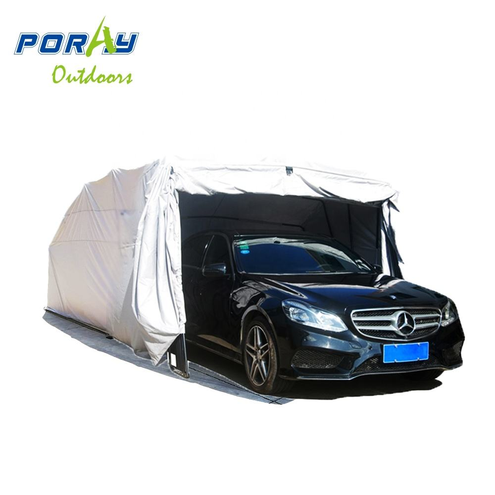 All Weather Proof Larger Car Carport Shelter Canopy Garage House shed foldable Retractable Lockable Durable Shelter