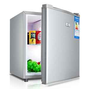 chigo mini bar fridge 50L single door refrigerator household and hotel use cooling and freezing BCD-50