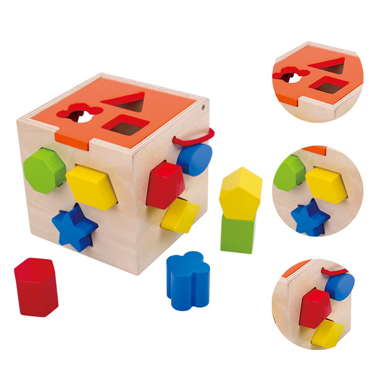 2020 New wooden other toys & hobbies activity cube toys for child to learning educational toys