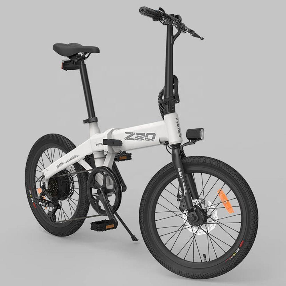 Free shipping 100% Original 20 inch Tire HIMO Z20 Electric Bicycle ebike 80KM Mileage e bike Outdoor Electric bike For bicycle