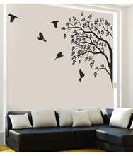 Custom Wall Stickers Wall Decals, Big Tree PVC Wall Stickers