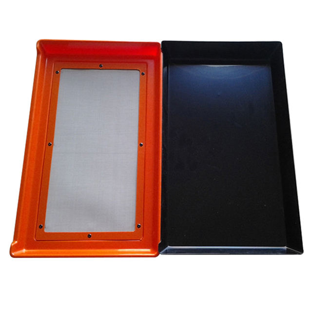 Cheap Antistatic Plastic Trays ESD PCB Conductive Vacuum Forming Planting Trimming Pollen Tray garden hardvest trim tray
