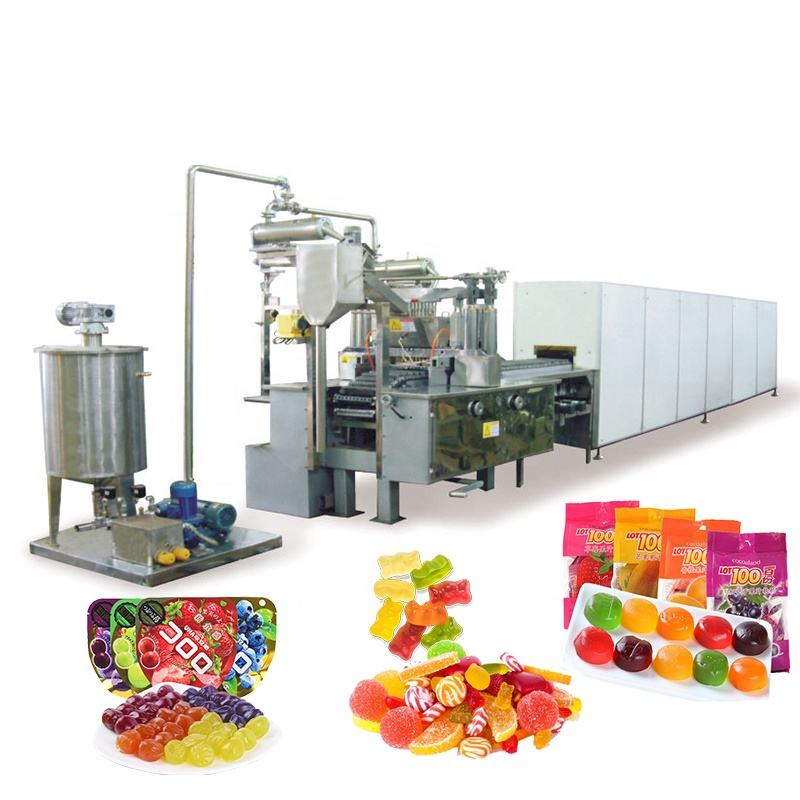 GD300Q Automatic Gummy/Jelly Candy Depositing Line
