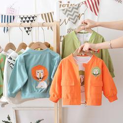 Sunny Baby Jacket Boy Small Spring and Autumn Clothing Coat 2020 New Kids Jacket Clothes