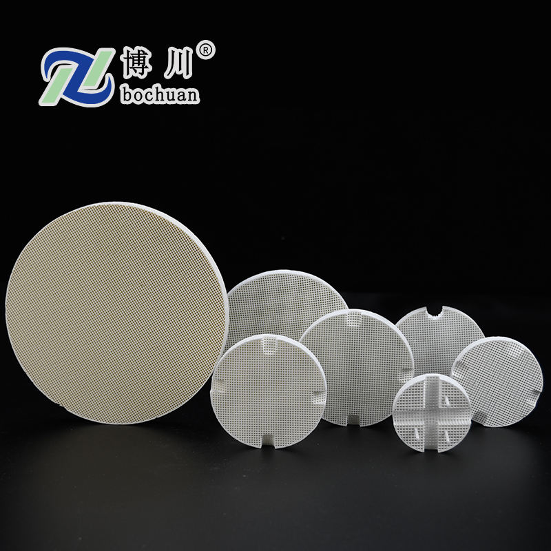 Ceramic Honeycomb Firing Disc For Furnace