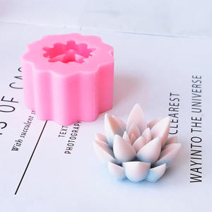 Wholesale Flower Pot Silicone Molds Custom Made Succulent Flower Silicone Mold Making
