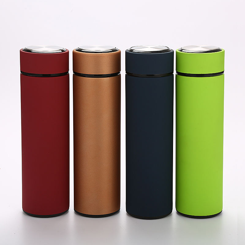 304 Double Wall Stainless Steel Thermo Flask Customized logo Water Bottle Thermos Flask Bottle