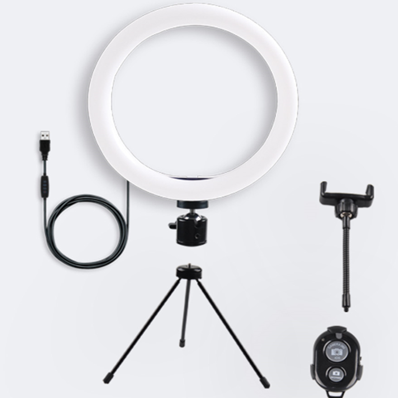 "10 ""Mini Led <span class=keywords><strong>Camera</strong></span> Licht Met Mobiele Telefoon Houder Desktop Ring Lamp Led Ring Licht Met <span class=keywords><strong>Statief</strong></span> Stand Voor youtube <span class=keywords><strong>Video</strong></span> En Make-Up"
