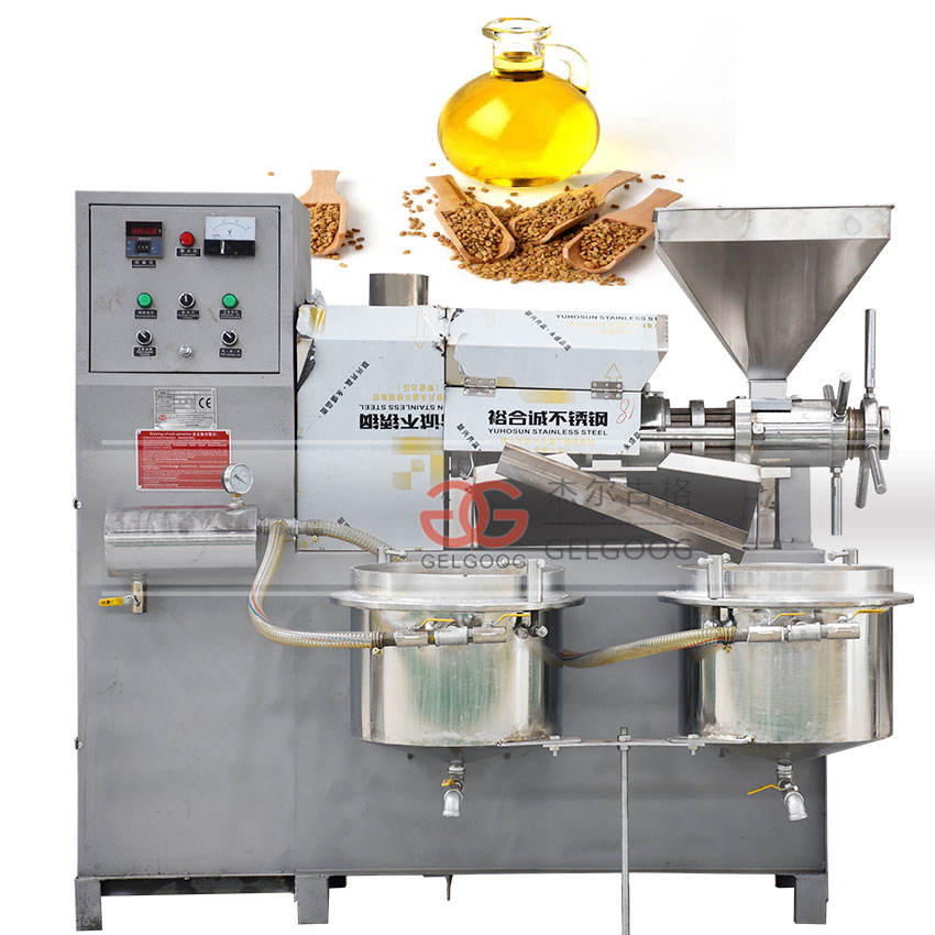 Automatic Oil Press Machine|Olive/Cotton Seed/Soybean/Peanut/Sesame Oil Press Machine