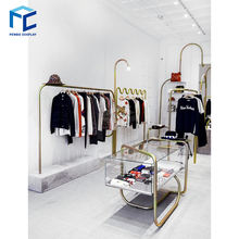 Modern Cloth Display Showcase Rack Decorating Cloth Shop Design Ideas Furniture