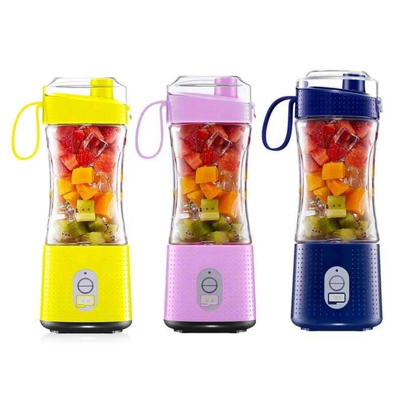 2020 New Home Appliance 380ml USB Portable Electric Blender And Juicer Mini Smoothie Blender