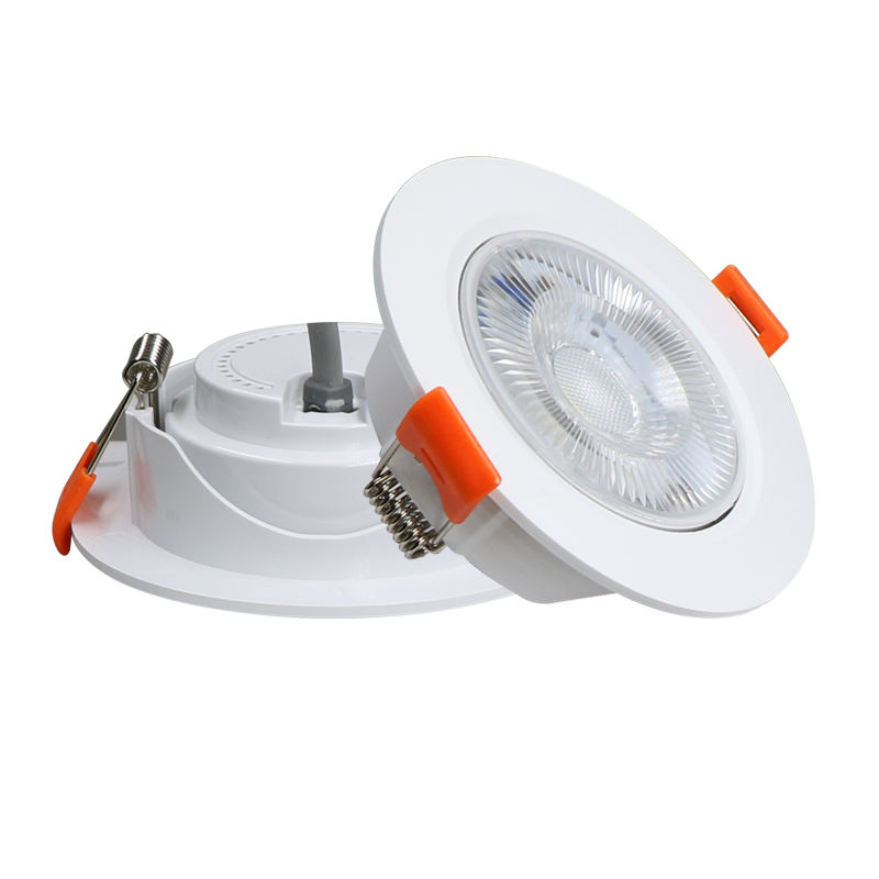 High quality indoor energy saving round ceiling 5w recessed led downlight
