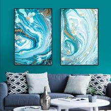 Wall Canvas Abstract Modern Frame Decor Living Room Decorative Designs Artwork Prints Painting