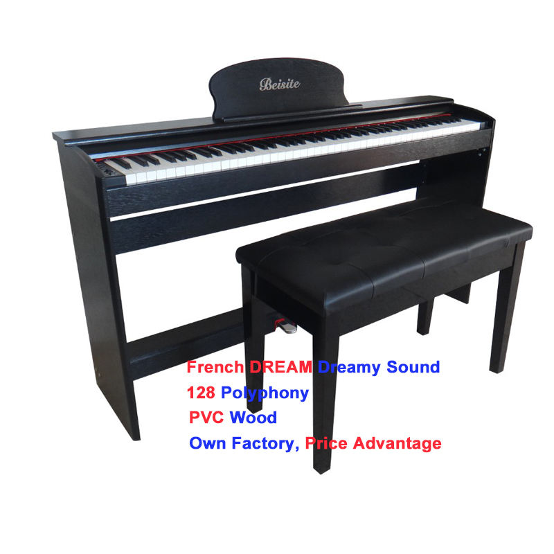 The hot sale digital piano 281 88 semi weight keys keyboard