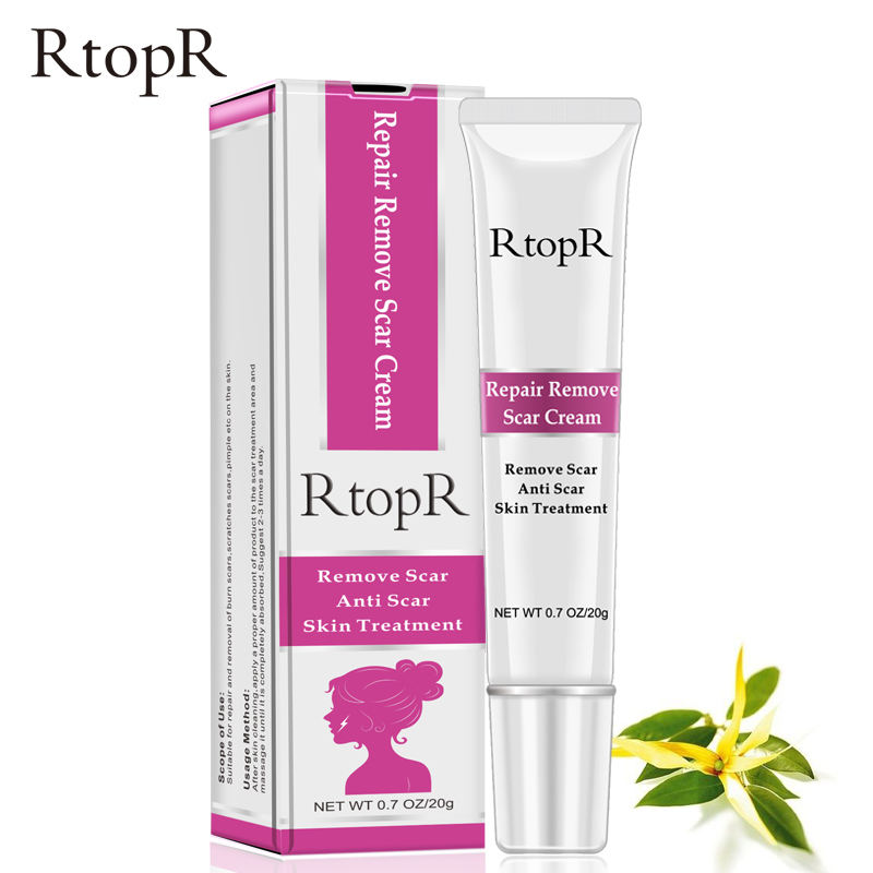 RtopR marke entfernen Narbe Anti Narbe haut Behandlung reparatur entfernen narbe creme