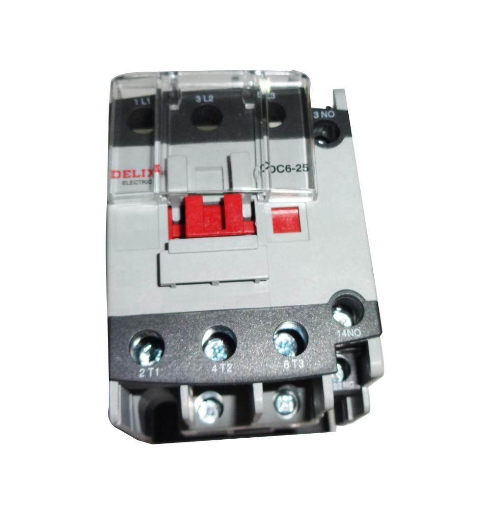 CDC6i 25A 3 Phase Contactors and Relays