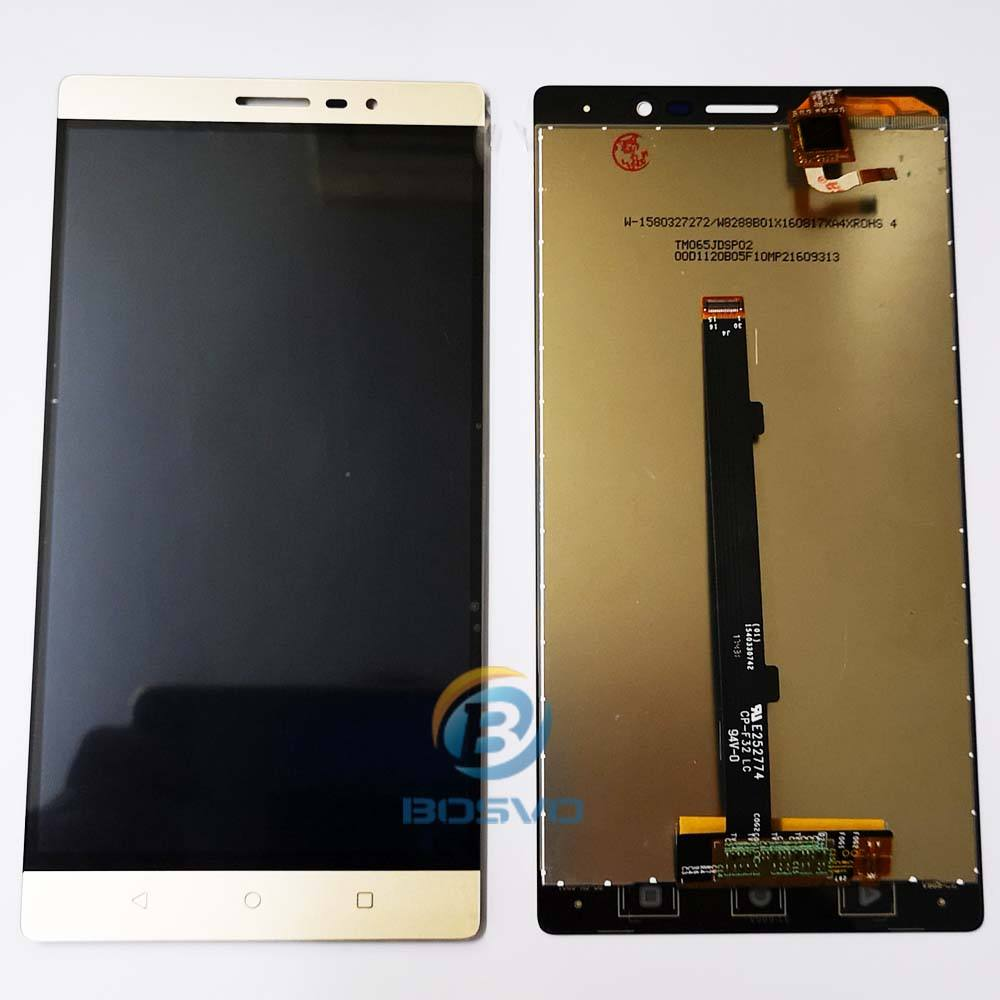 For Lenovo Phab2 Phab 2 PB2-650N PB2-650M PB2-650Y PB2-650 LCD Display Touch Screen Glass Digitizer Assembly