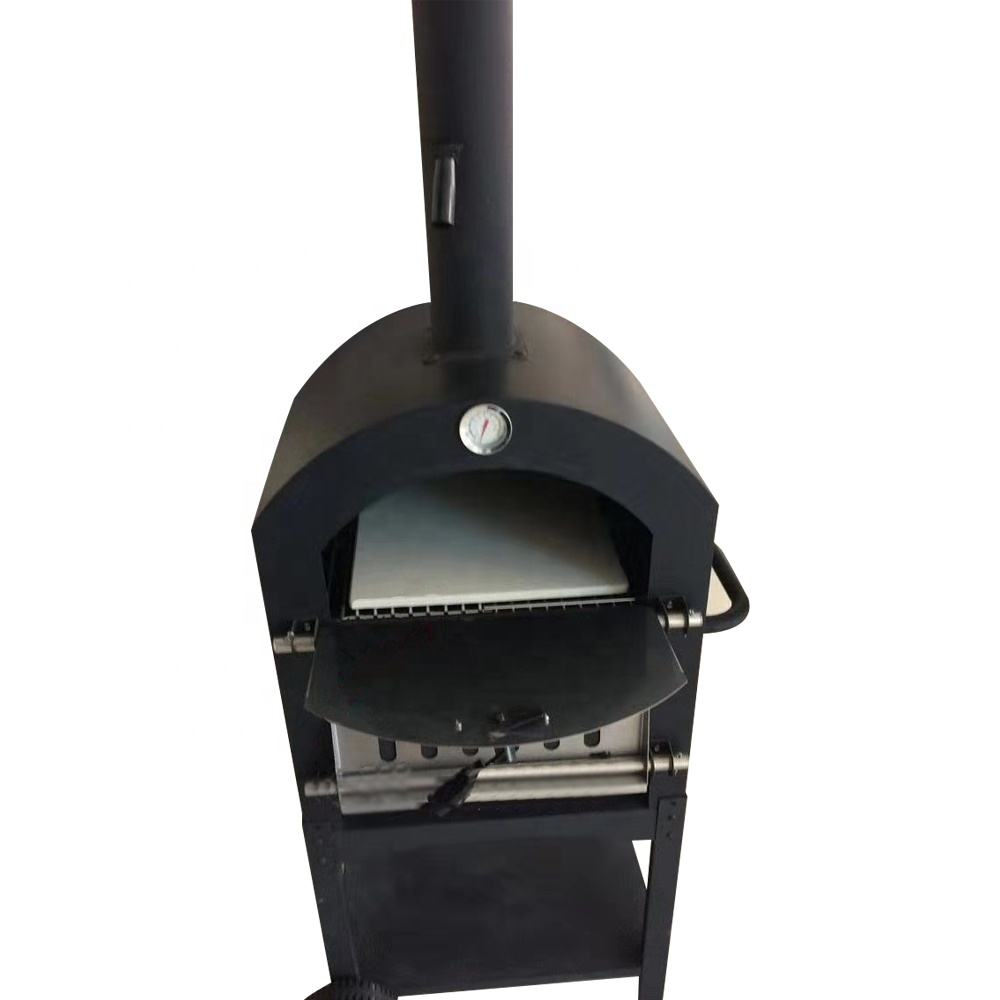 2020 Outdoor Commercial Use Burning Pizza Oven Dome Design Traditional Wood Fired Pizza Oven for sale