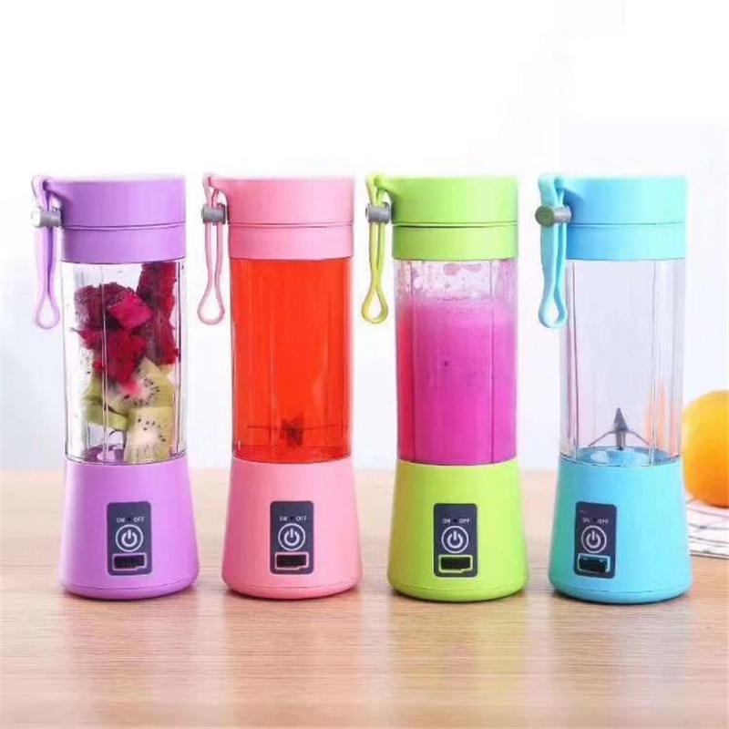 T57 High Quality Mini Portable Electric Fruit Juicer USB Rechargeable Smoothie Maker Blender Machine