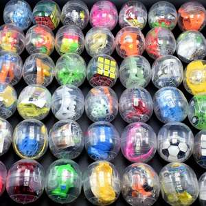 Mixed Different Toys Eco-friendly Cheap Small Plastic Capsule Toys Surprise Egg Capsule Egg box Toy For Vending Machine