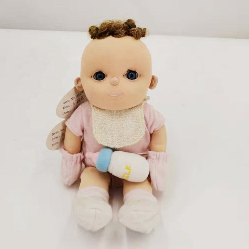 Hot seller stuffed plush baby dolls cute sofe realistic toys