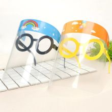 JAKIJAYI High Quality Clear PET Splash Protector glasses Facial Face Shields For Children
