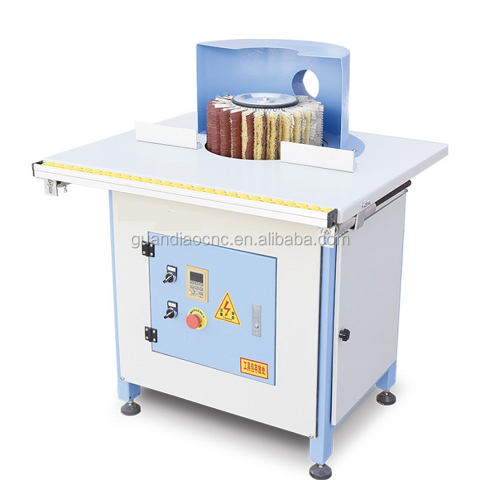 Woodworking machinery round bar grinding machine small manual wood polishing machine with good quality
