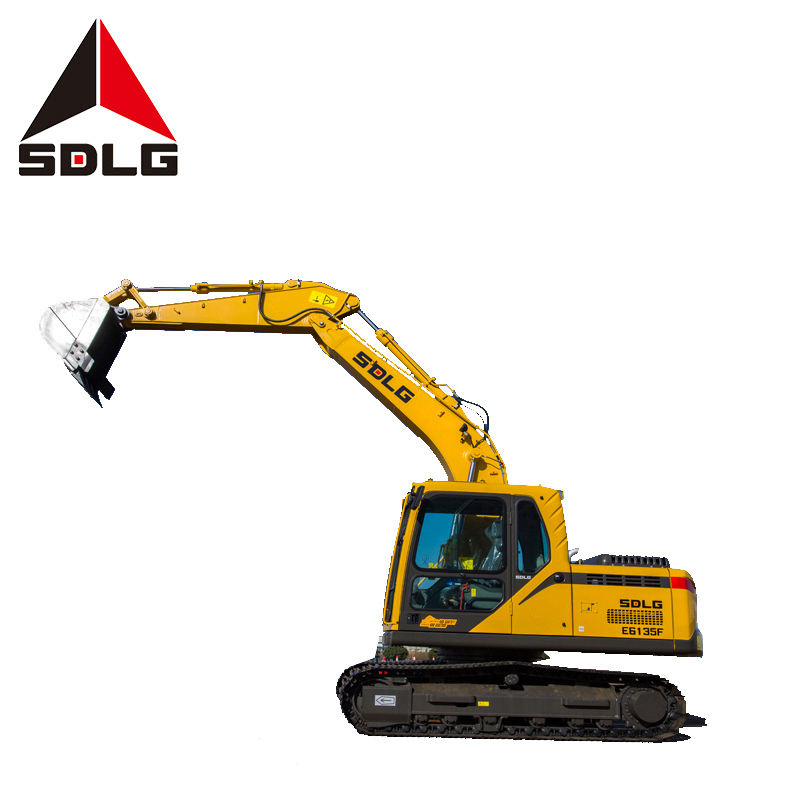 SDLG 6135F Shandong lingong construction machinery co ltd long boom excavator